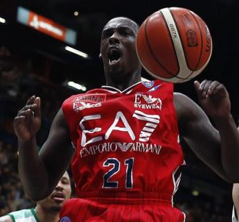 Basket on the field:  Olimpia Basket EA7 Milano